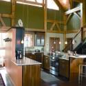 Tủ bếp gỗ công nghiệp – TVN1153