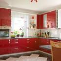Tủ bếp gỗ công nghiệp Acrylic  TVB0839