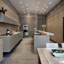 Tủ bếp gỗ công nghiệp – TVN1408