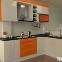 Tủ bếp gỗ MDF Acrylic – TVB479