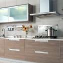 Tủ bếp gỗ công nghiệp Laminate chữ I   TVB1017