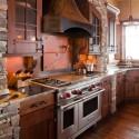 Tủ bếp gỗ Căm Xe – TVB264