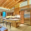 Tủ bếp gỗ công nghiệp – TVN1218