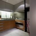 Tủ bếp gỗ Laminate chữ L   TVB724