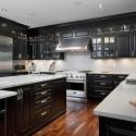 Tủ bếp gỗ tự nhiên  công nghiệp – TVN619