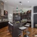 Tủ bếp gỗ tự nhiên – TVN474