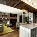 Tủ bếp gỗ công nghiệp – TVN1078