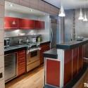 Tủ bếp gỗ công nghiệp – TVN1390