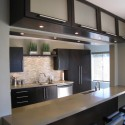 Tủ bếp MDF Laminate + bàn Bar – TVB577