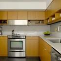 Tủ bếp gỗ công nghiệp – TVN1128