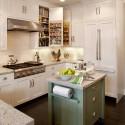 Tủ bếp gỗ Sồi Nga – TVB277