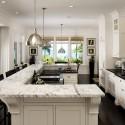 Nội thất Tủ Bếp   Tủ bếp gỗ tự nhiên – TVN412