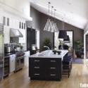Nội thất Tủ Bếp   Tủ bếp gỗ tự nhiên – TVN346