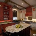 Tủ bếp gỗ tự nhiên – TVN898