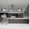 Tủ bếp gỗ công nghiệp – TVN506