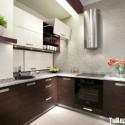 Tủ bếp gỗ công nghiệp  – TVN1119