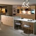 Tủ bếp Laminate có đảo   TVB0866