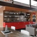 Tủ bếp gỗ công nghiệp – TVN516