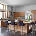 Tủ bếp gỗ công nghiệp – TVN499
