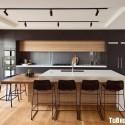 Tủ bếp gỗ công nghiệp – TVN1337