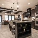 Tủ bếp gỗ tự nhiên – TVN529