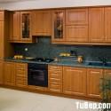 Tủ bếp gỗ xoan đào – TVB480