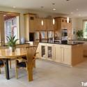 Tủ bếp gỗ tự nhiên – TVN903