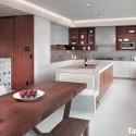 Tủ bếp Laminate có đảo   TVB0819