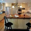 Nội thất Tủ Bếp   Tủ bếp gỗ tự nhiên – TVN368
