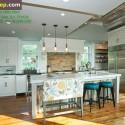 Tủ bếp gỗ tự nhiên – TVN670