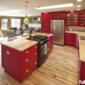 Tủ bếp gỗ tự nhiên – TVN910