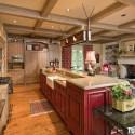Tủ bếp gỗ tự nhiên – TVN1054