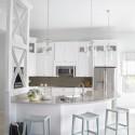 Tủ bếp gỗ tự nhiên – TVN654