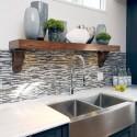 Tủ bếp gỗ công nghiệp – TVN594