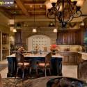 Tủ bếp gỗ tự nhiên – TVN1026