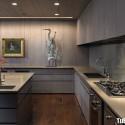 Tủ bếp gỗ công nghiệp – TVN1377
