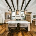 Tủ bếp gỗ tự nhiên – TVN1230