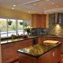 Tủ bếp gỗ tự nhiên – TVN604