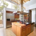 Tủ bếp Lamiante màu vân gỗ chữ I TVB 1175