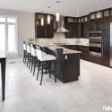 Tủ bếp gỗ công nghiệp – TVN541