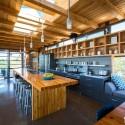 Nội thất Tủ Bếp   Tủ bếp gỗ tự nhiên công nghiệp – TVN421