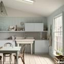 Nội thất Tủ Bếp   Tủ bếp gỗ công nghiệp – TVN451