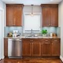Tủ bếp gỗ tự nhiên – TVN1336