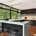 Tủ bếp gỗ MDF Laminate + Bàn đảo – TVB486