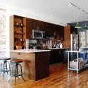 Tủ bếp gỗ MDF Laminate– TVB338
