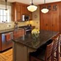 Tủ bếp gỗ tự nhiên – TVN514
