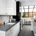 Tủ bếp gỗ MDF Acrylic – TVB560