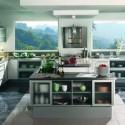 Tủ bếp gỗ công nghiệp – TVN1183