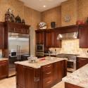 Tủ bếp gỗ tự nhiên – TVN1109