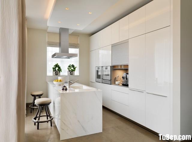 4b6824ade110.12.jpg Tủ bếp gỗ Acrylic màu trắng chữ I có đảo – TVB 1199